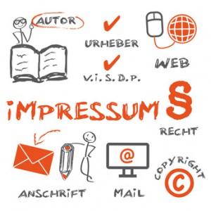 Impressum, Copyright, Urheber - copyright trueffelpix - Fotolia.com