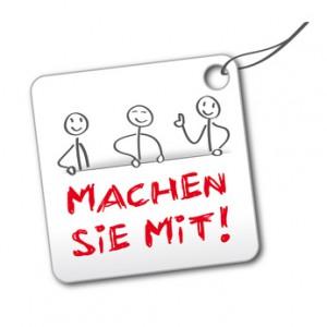 """Etikett """"machen sie mit"""" - copyright trueffelpix - Fotolia.com"""